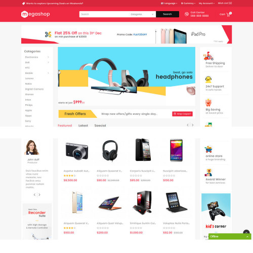 Làm website shop điện tử 003