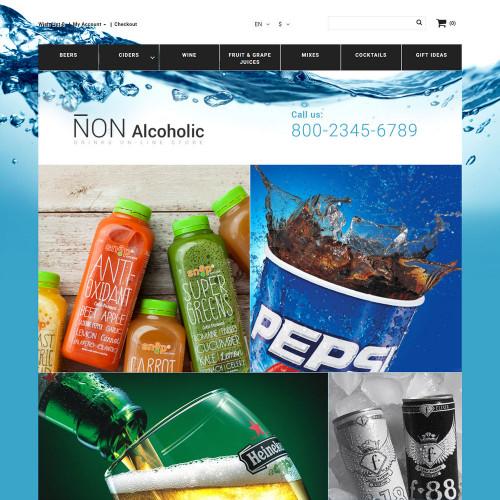 Mẫu web thực phẩm và đồ uống  21