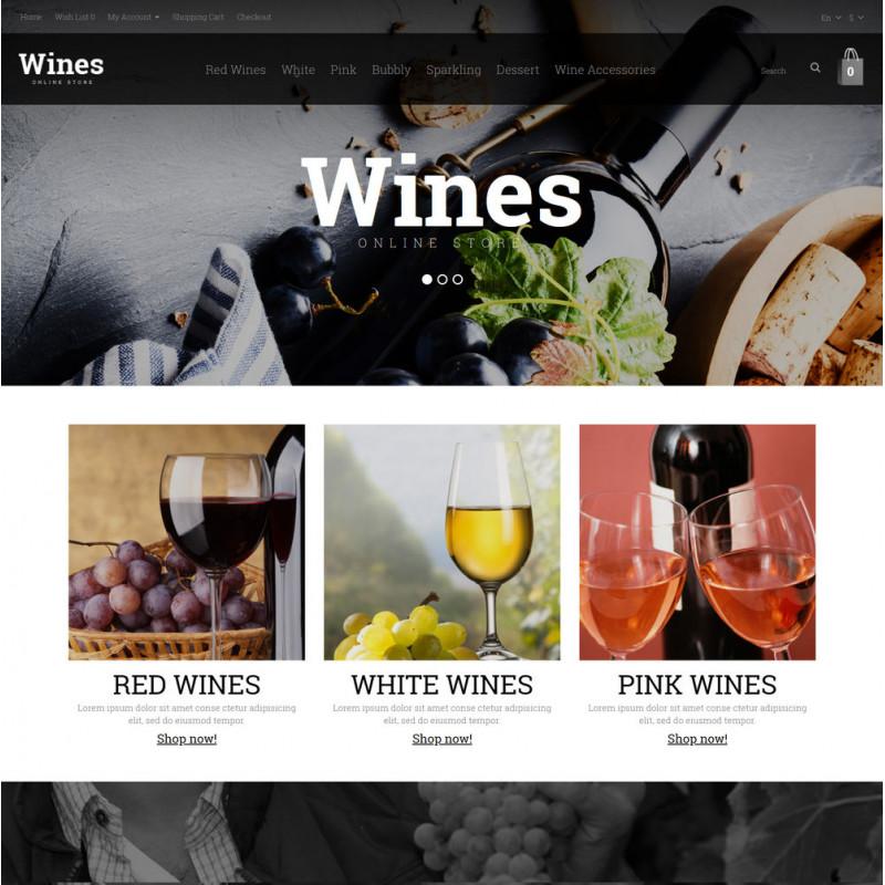 Mẫu web thực phẩm và đồ uống  27