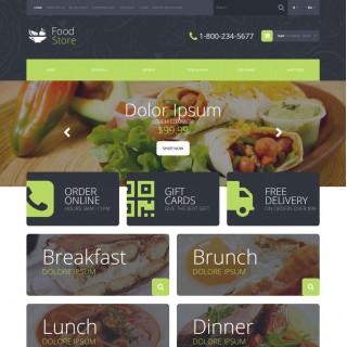 Mẫu web thực phẩm và đồ uống 31