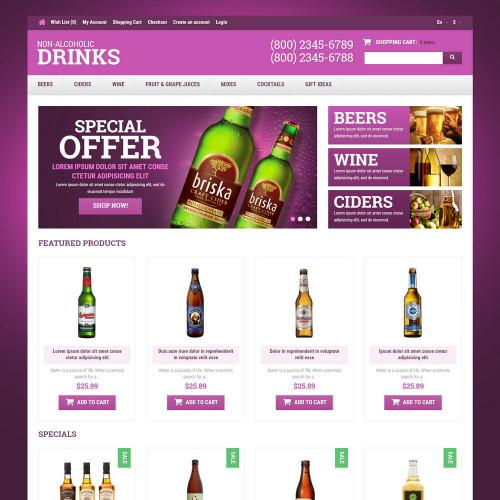 Mẫu web thực phẩm và đồ uống  33