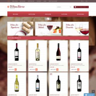 Mẫu web thực phẩm và đồ uống  35