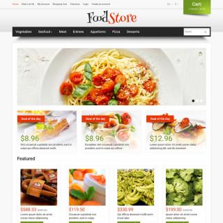 Mẫu web thực phẩm và đồ uống  37