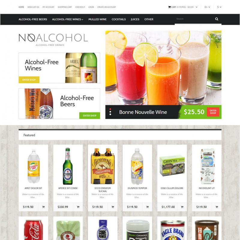 Mẫu web thực phẩm và đồ uống  43