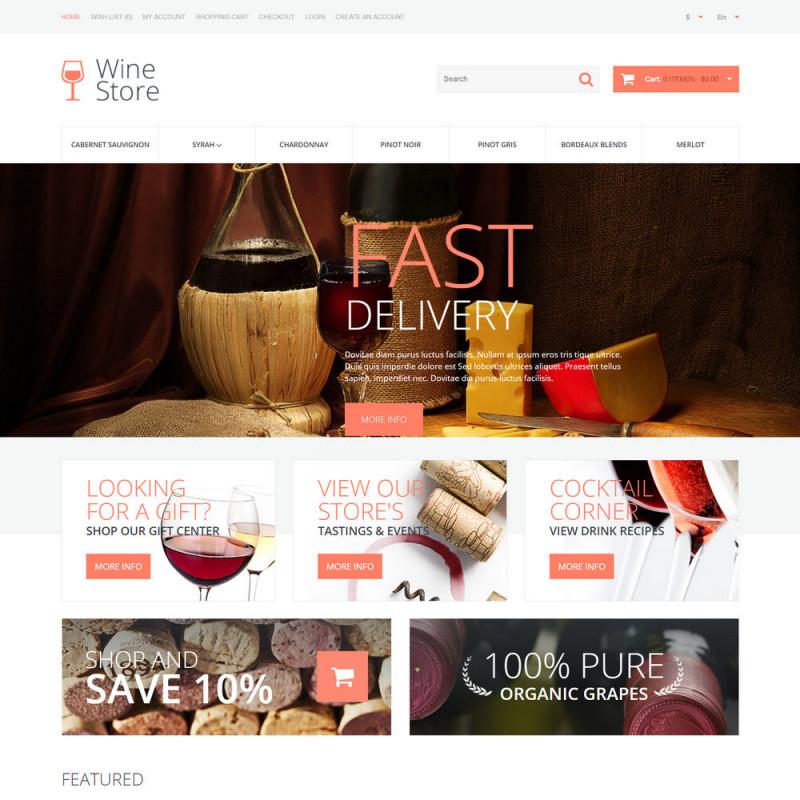 Mẫu web thực phẩm và đồ uống 49