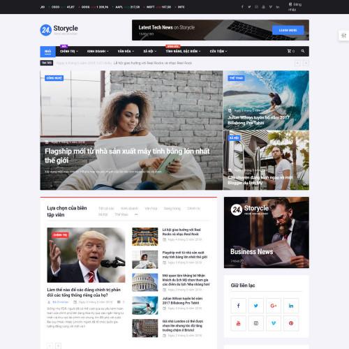 Làm website tin tức 01
