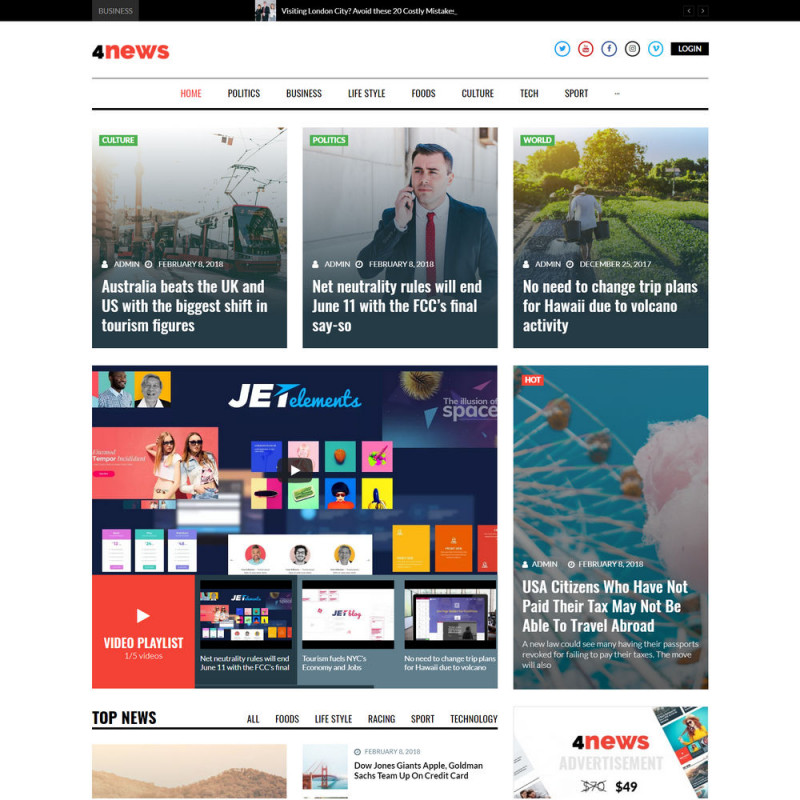 Làm website tin tức 14