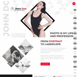 Làm website nhiếp ảnh 11