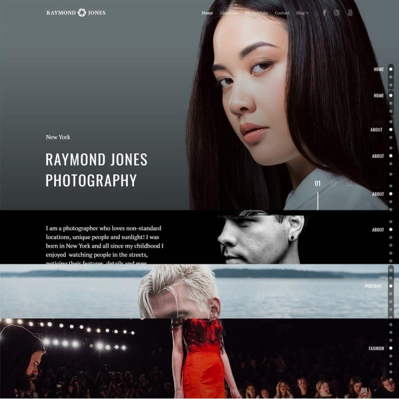 Làm website nhiếp ảnh 12