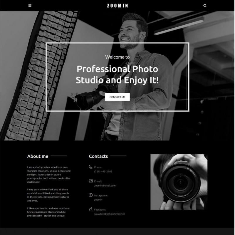Làm website nhiếp ảnh 22