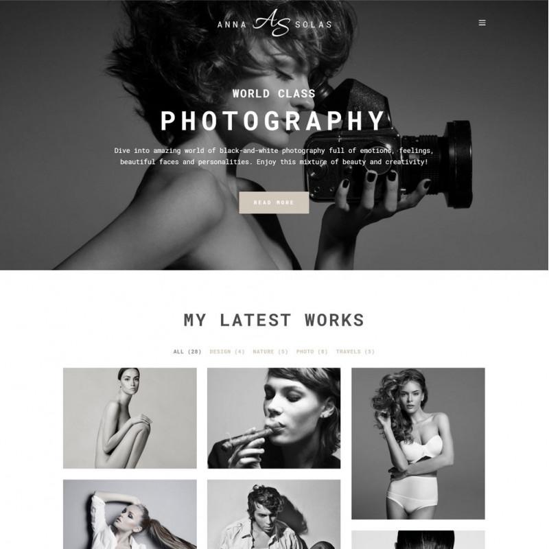 Làm website nhiếp ảnh 28