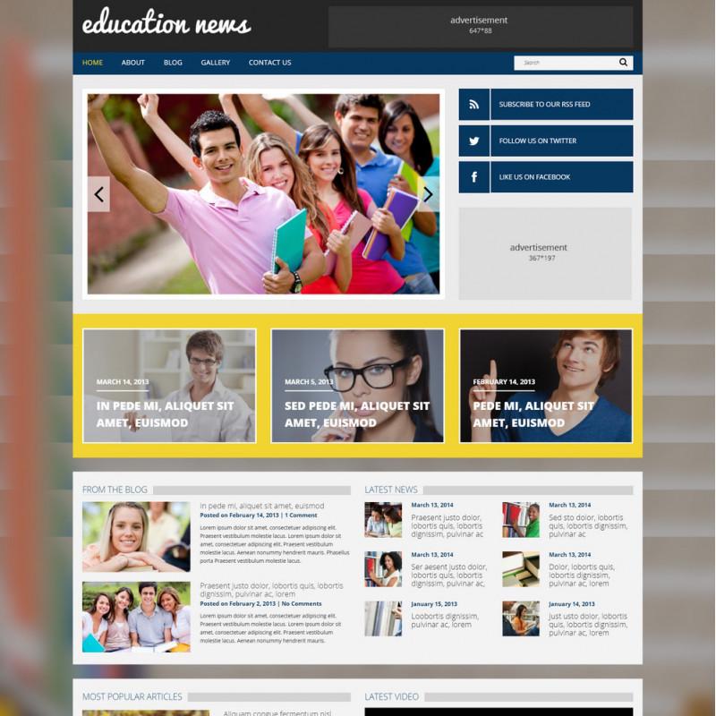 Làm website giáo dục 136
