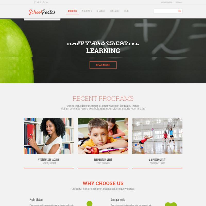 Làm website giáo dục 100