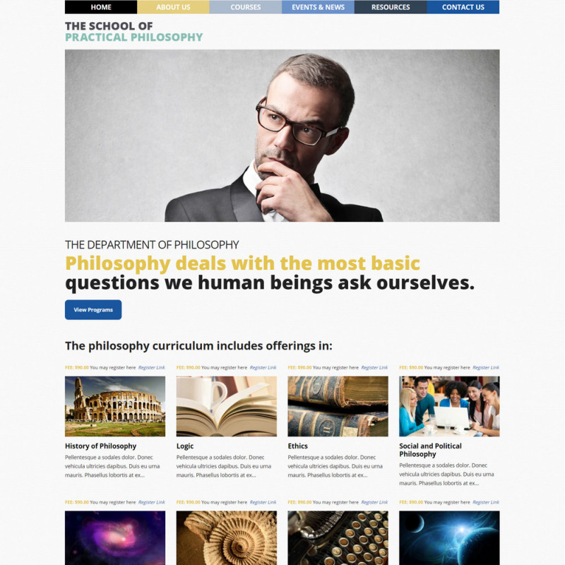 Làm website giáo dục 120