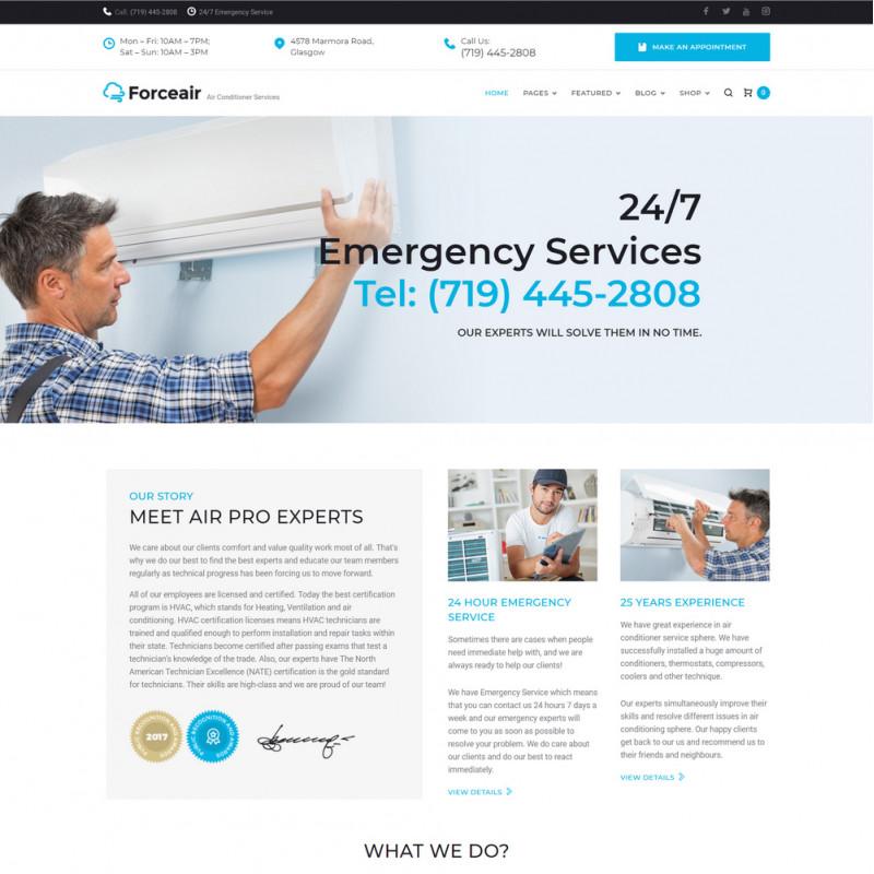 Làm website dịch vụ bảo trì 07
