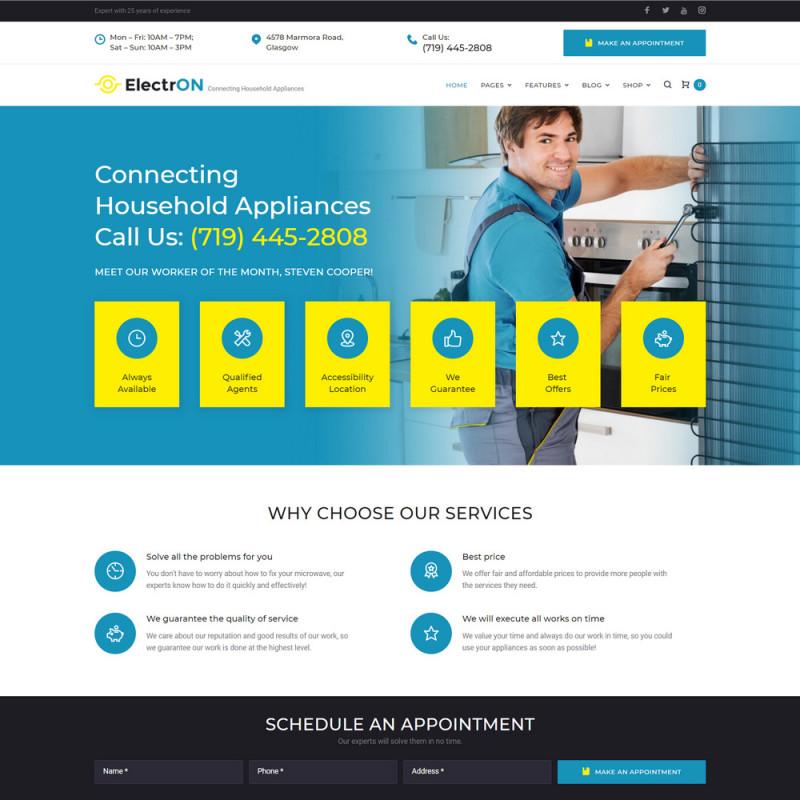 Làm website dịch vụ bảo trì 13