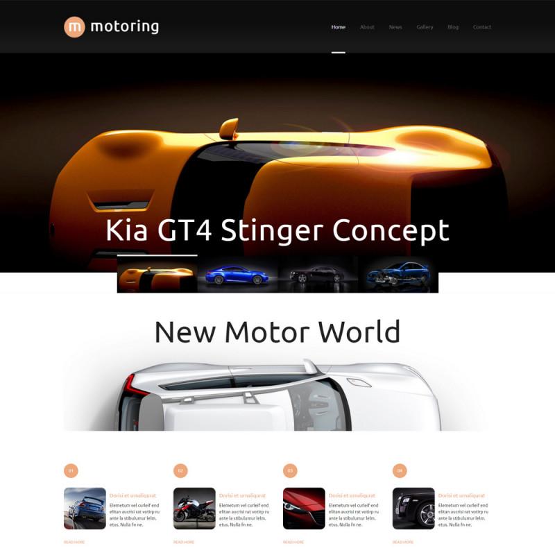 Làm website ô tô 101