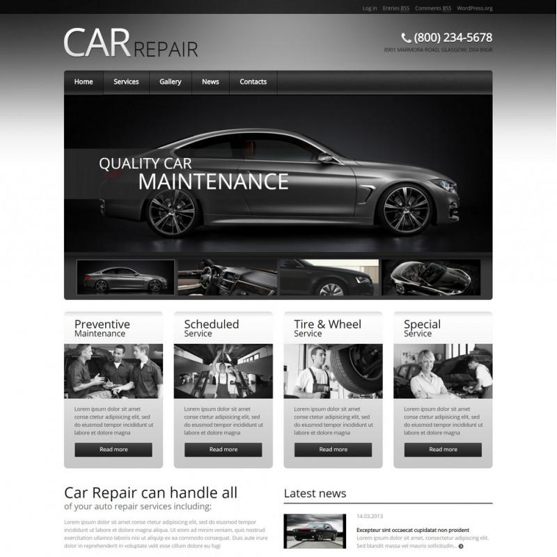 Làm website ô tô 107