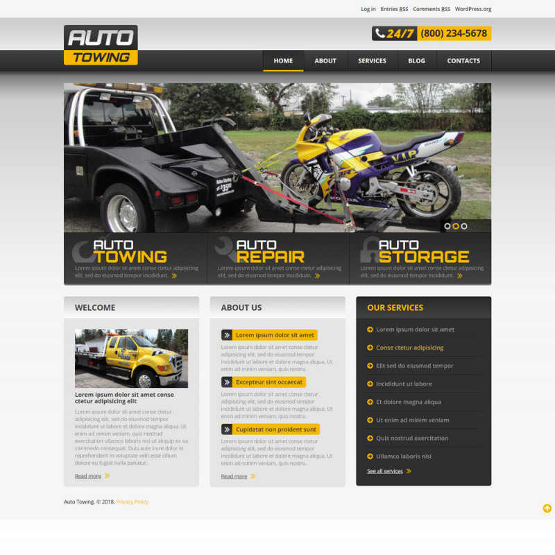 Làm website ô tô 108