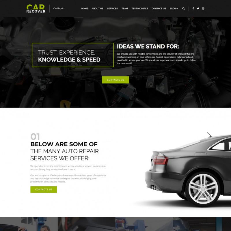 Làm website ô tô 45