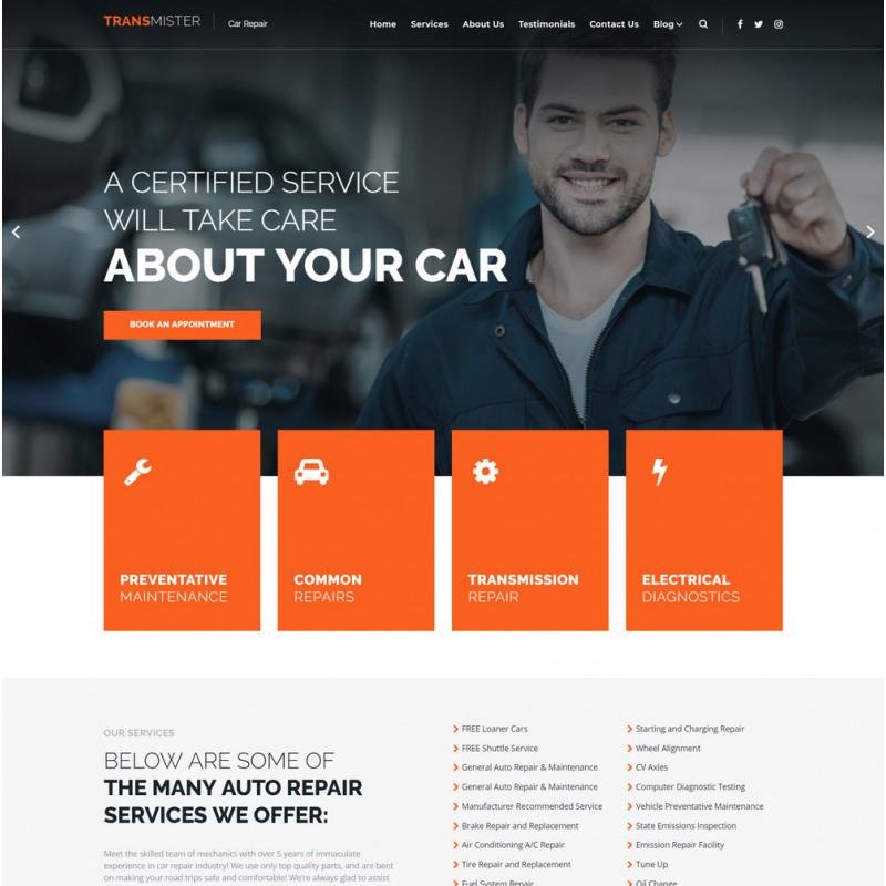 Làm website ô tô 46