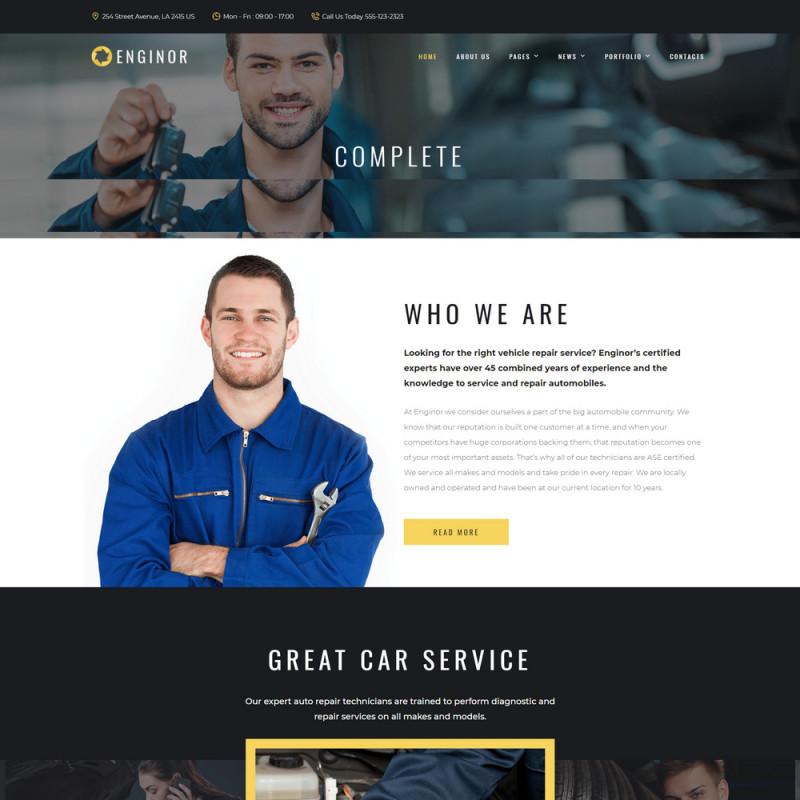 Làm website ô tô 48
