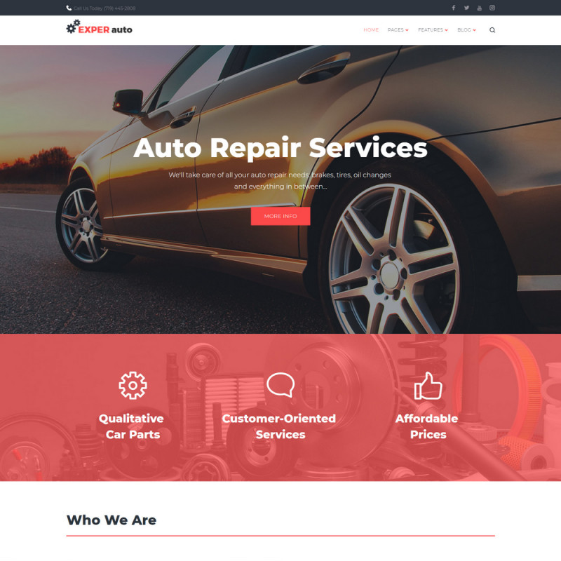 Làm website ô tô 50
