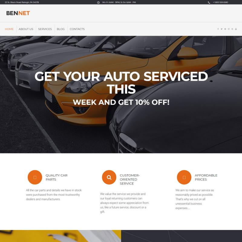 Làm website ô tô 69