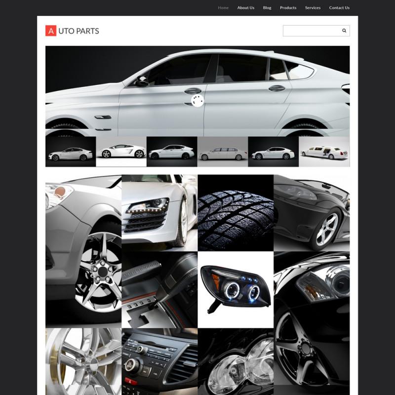 Làm website ô tô 73