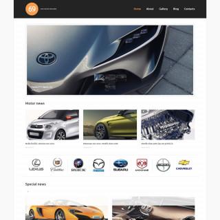 Làm website ô tô 81