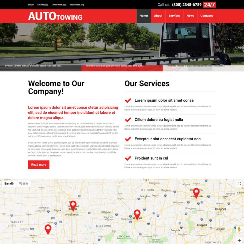 Làm website ô tô 89
