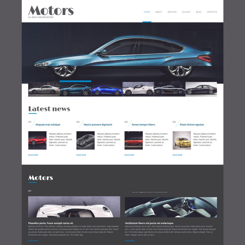 Làm website ô tô 97