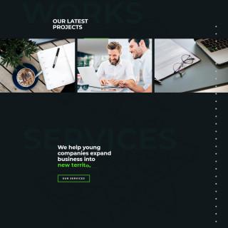 Làm website tài chính 01