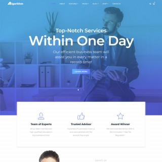 Làm website tài chính 07
