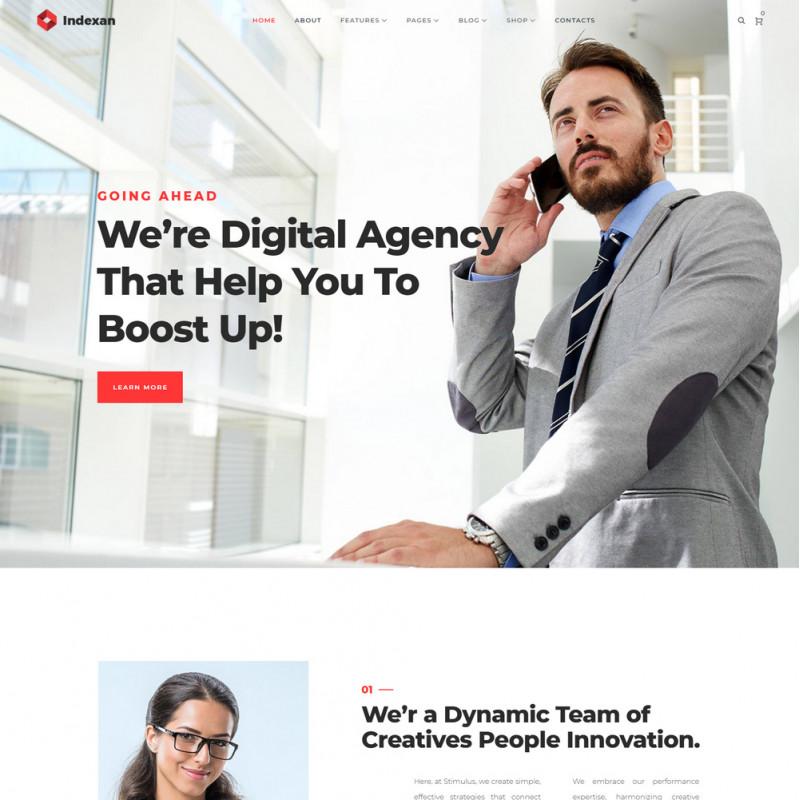 Làm website tài chính 08