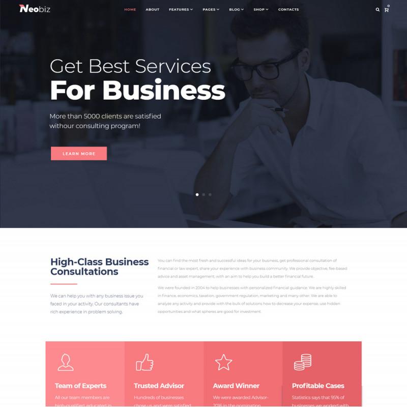 Làm website tài chính 09