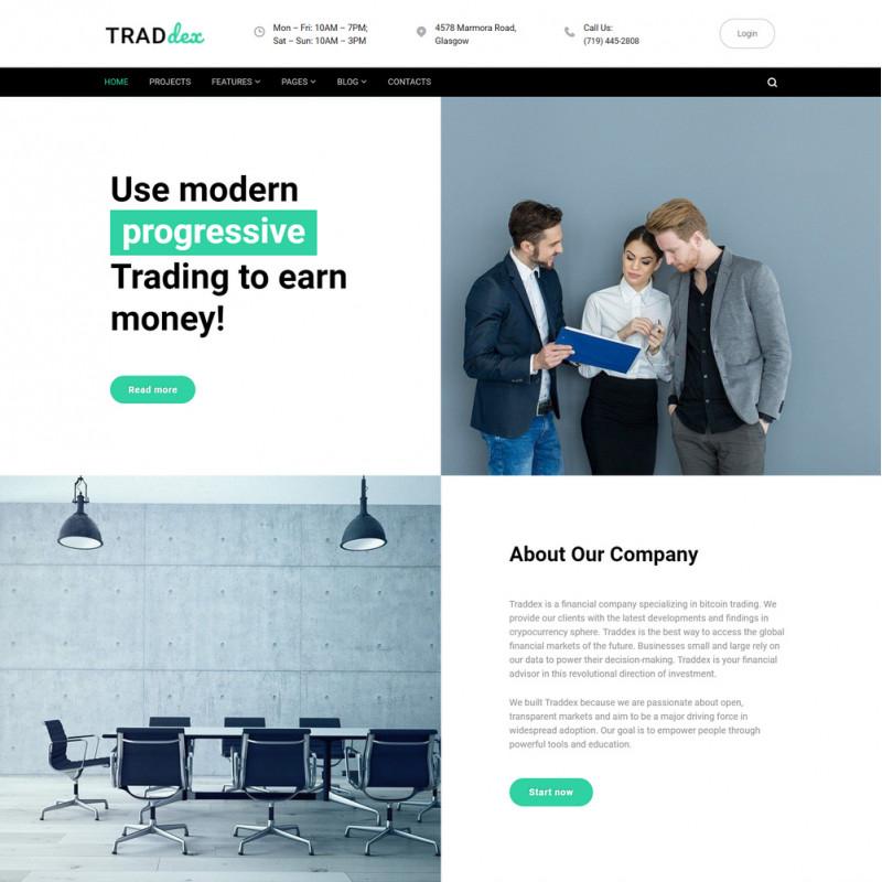 Làm website tài chính 13