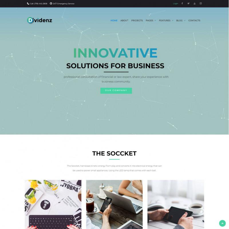 Làm website tài chính 14