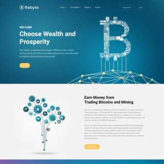 Làm website tài chính 33