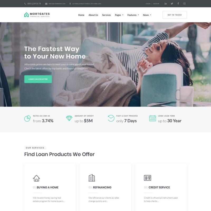 Làm website tài chính 34