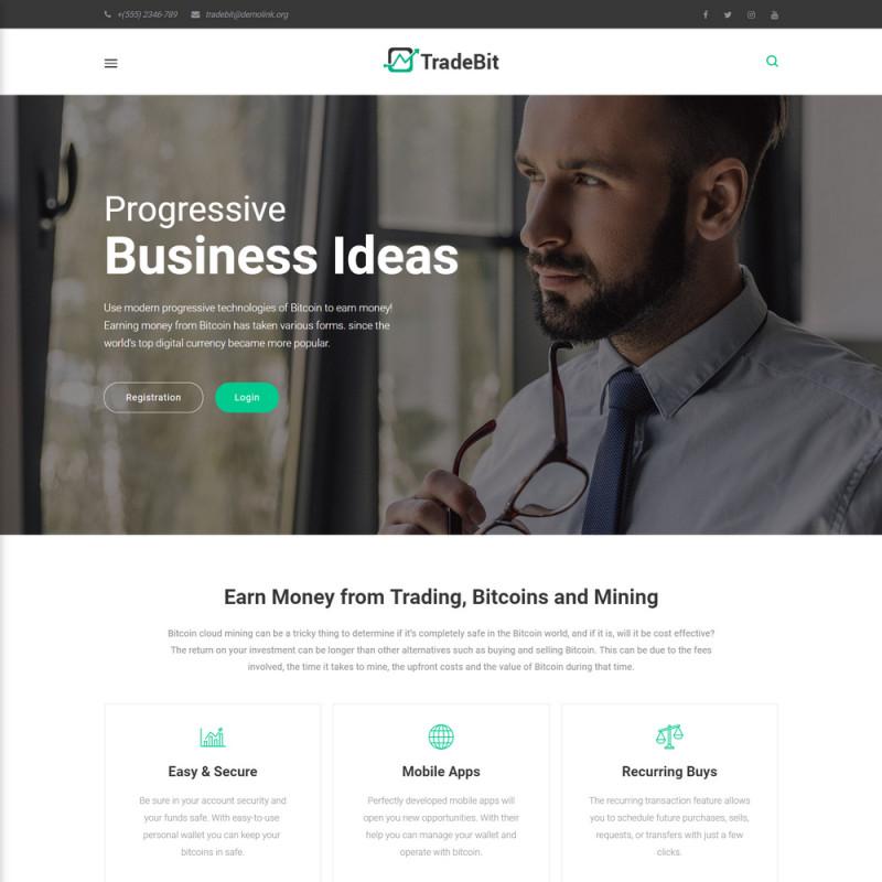 Làm website tài chính 38