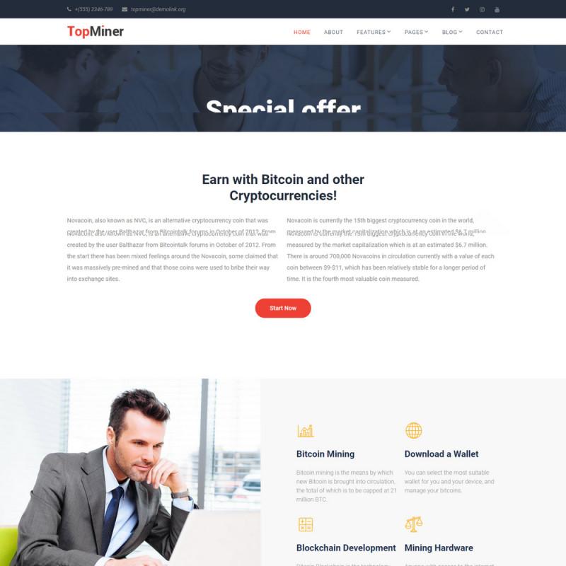 Làm website tài chính 39