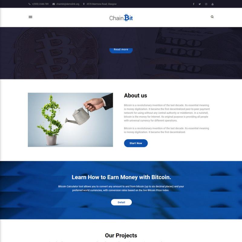 Làm website tài chính 40
