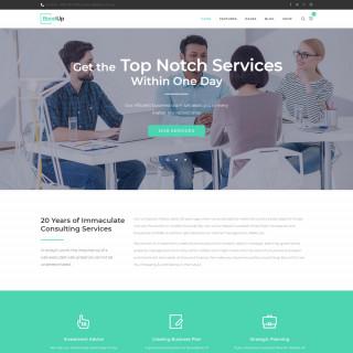 Làm website tài chính 41