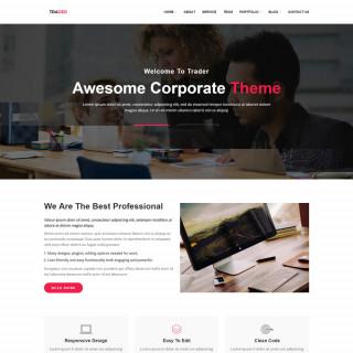 Làm website tài chính 45