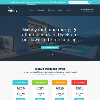 Làm website tài chính 54