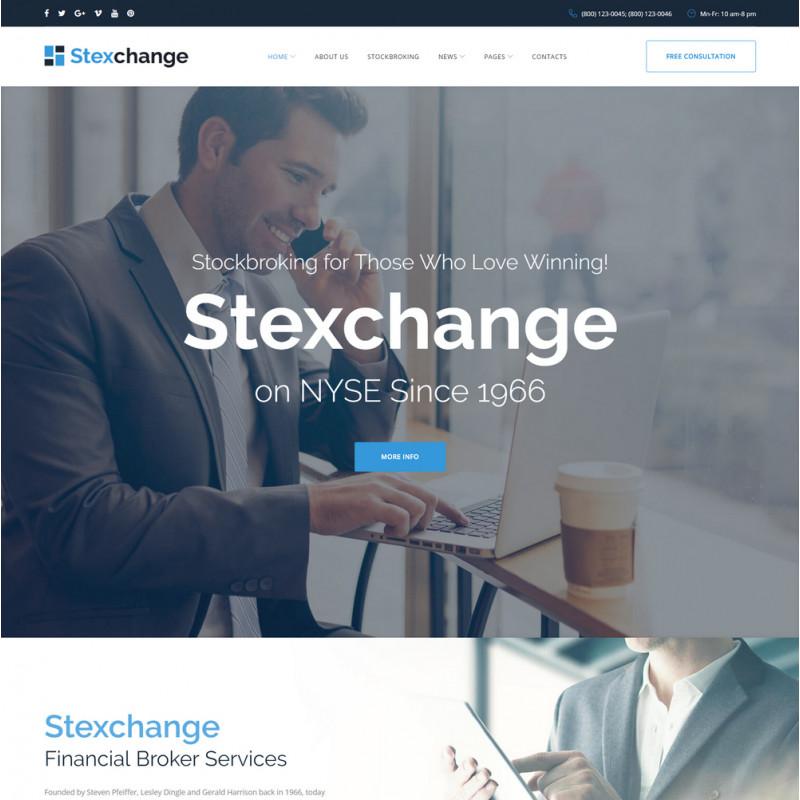 Làm website tài chính 56