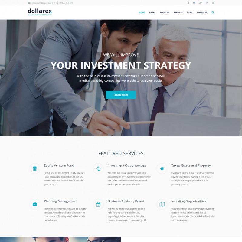 Làm website tài chính 58