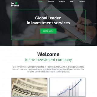 Làm website tài chính 61