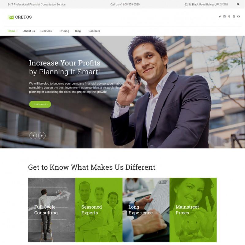 Làm website tài chính 65